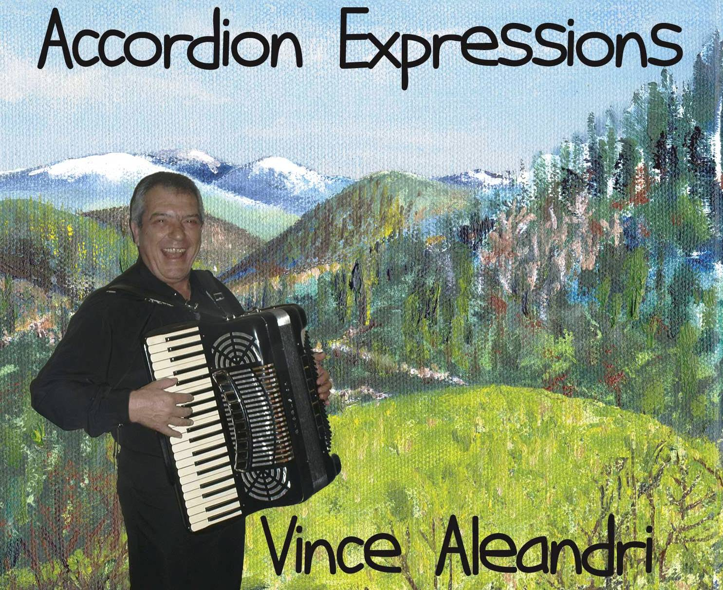 Atlanta Accordian Player vince aleandri